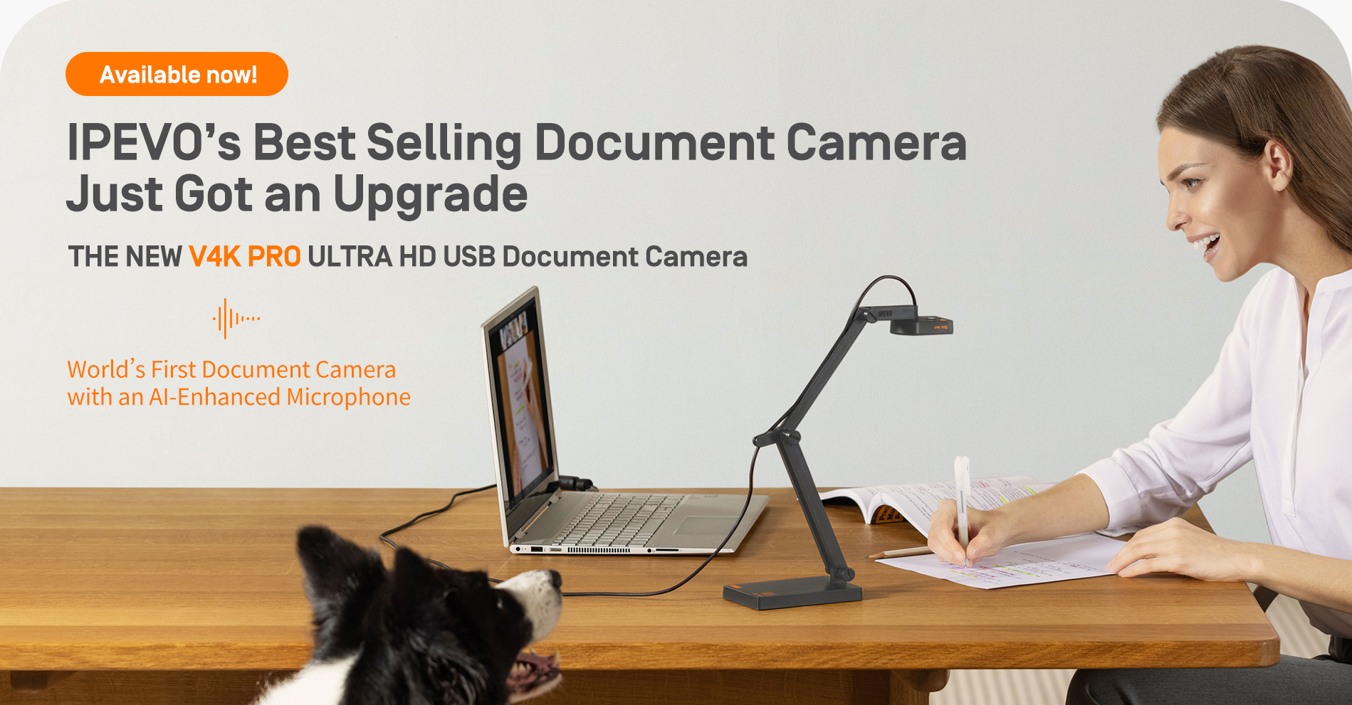 IPEVO's Best Selling Document Camera Just Got an Upgrade